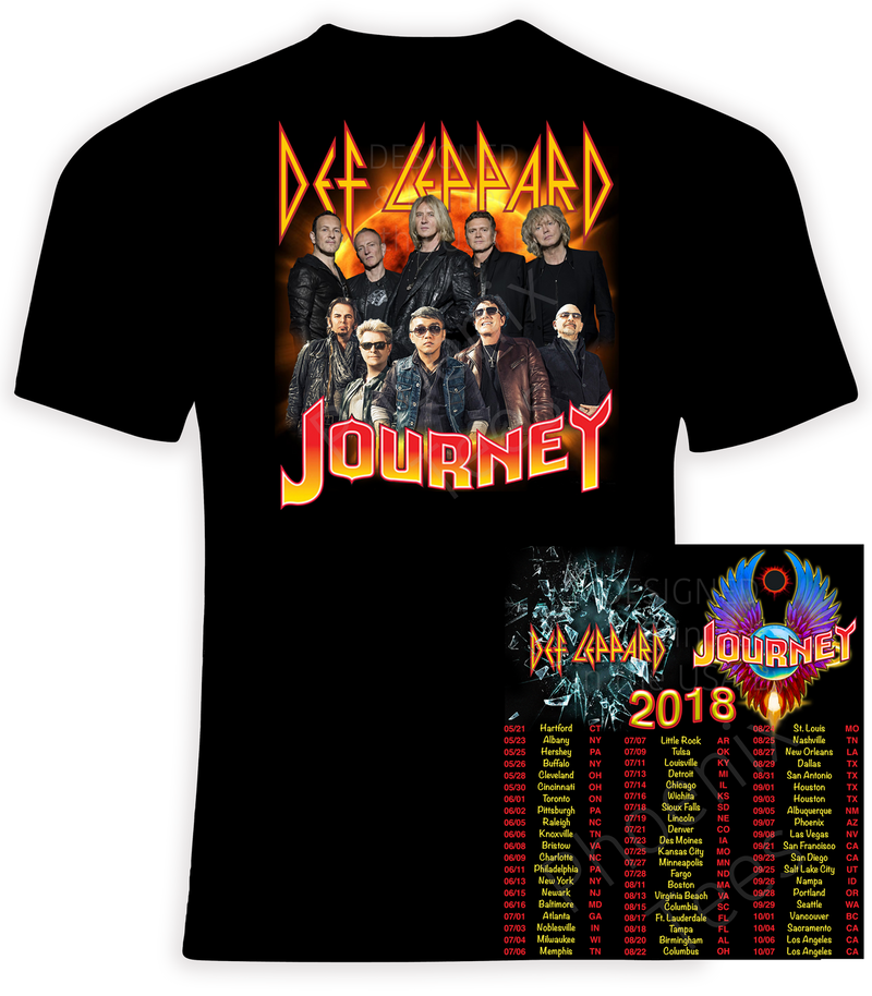 Def Leppard and Journey 2018 Concert Tour