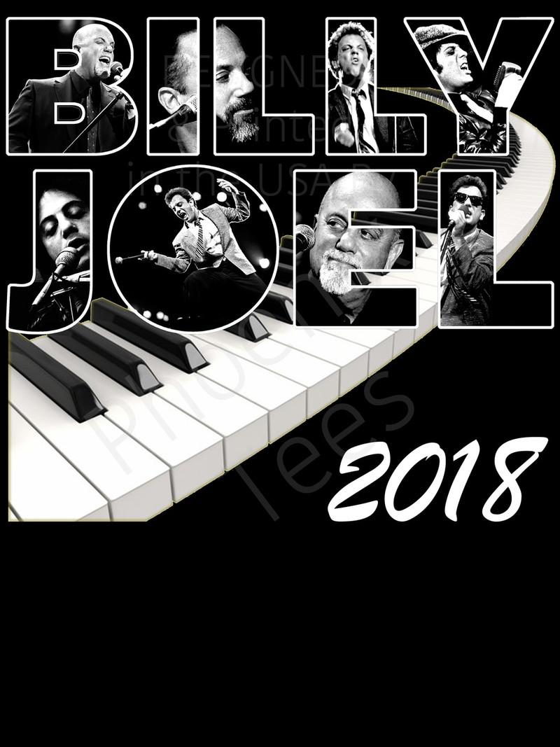 Billy Joel 2018 Concert Tour t shirt
