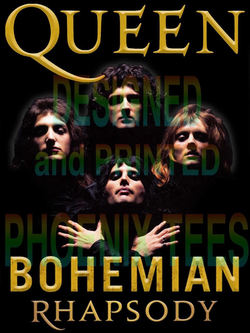 Queen Bohemian Rhapsody II tshirt
