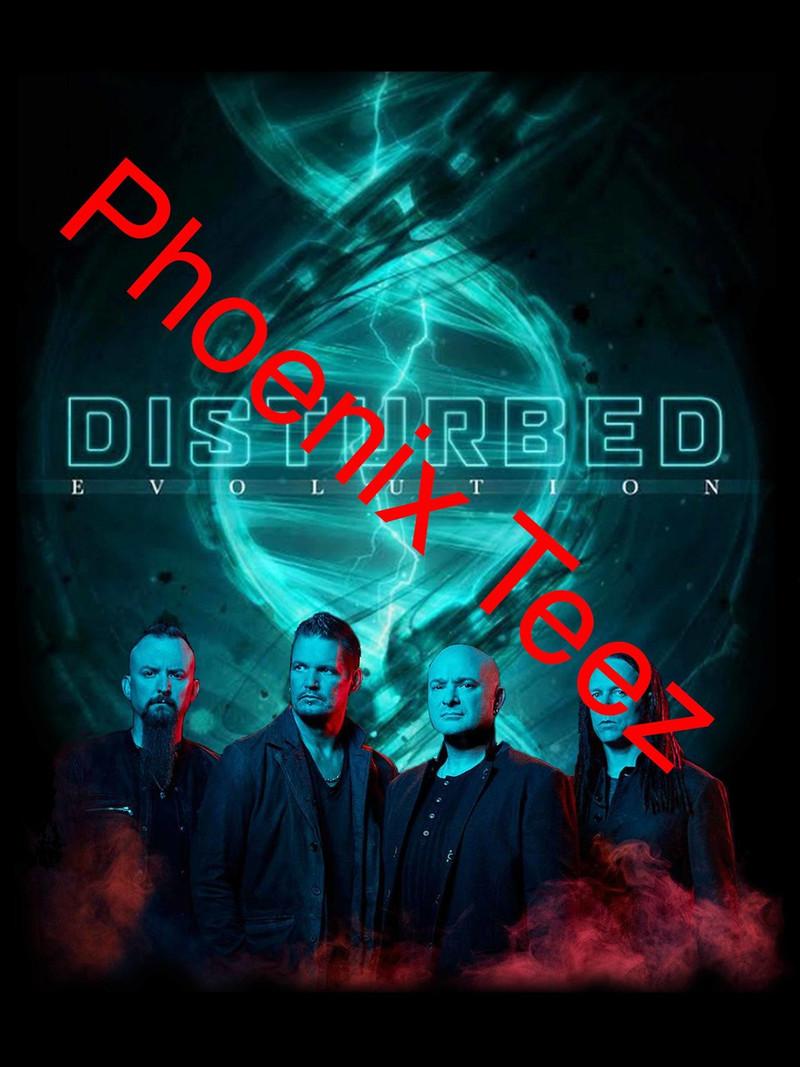 Disturbed 2019 Evolution Concert Tour
