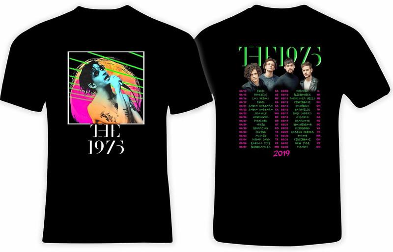 The 1975 '2019' Concert Tour