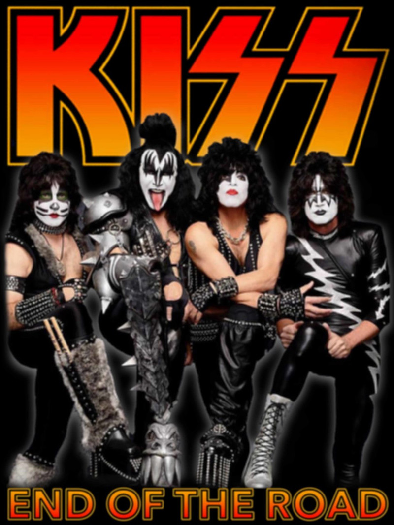 Kiss 2019 End of the Road Tour