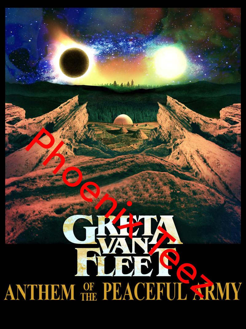 Greta Van Fleet 2019 March of the Peaceful Army Concert Tour