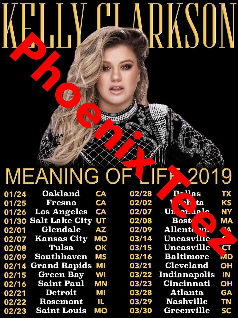 Kelly Clarkson 2019 Meaning of Life