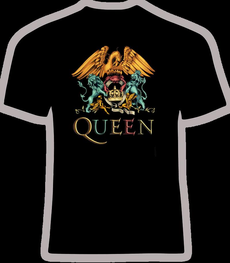 Queen Metallic Colored Logo