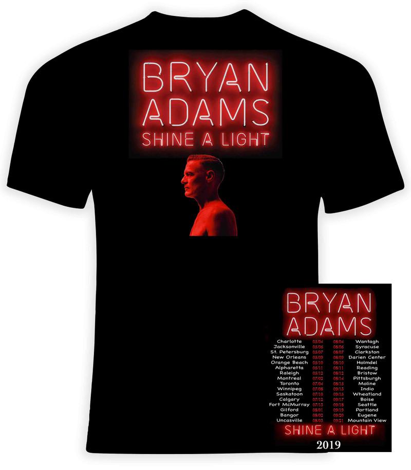 Bryan Adams 2019 Shine a Light Concert Tour - FREE SHIPPING