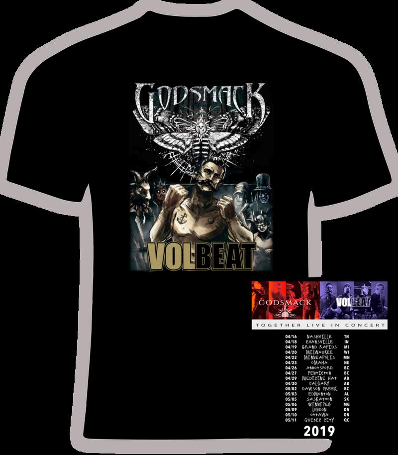 Godsmack and Volbeat 2019 Concert Tour