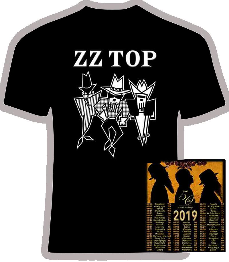 ZZ Top 50th Anniversary Concert Tour 2019