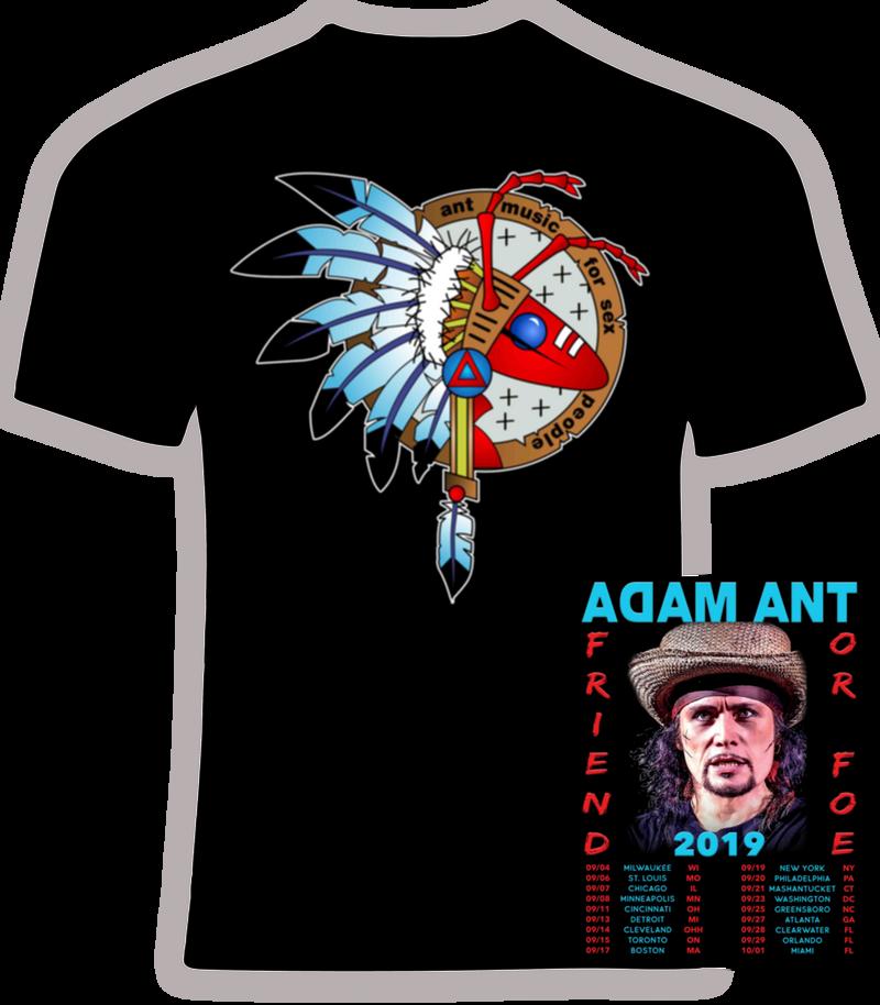 Adam Ant 2019 Friend or Foe Concert Tour