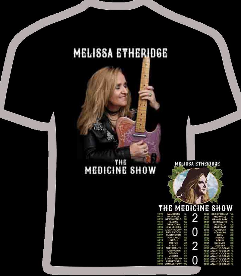 Melissa Etheridge 2020 'The Medicine Show' Concert T Shirt