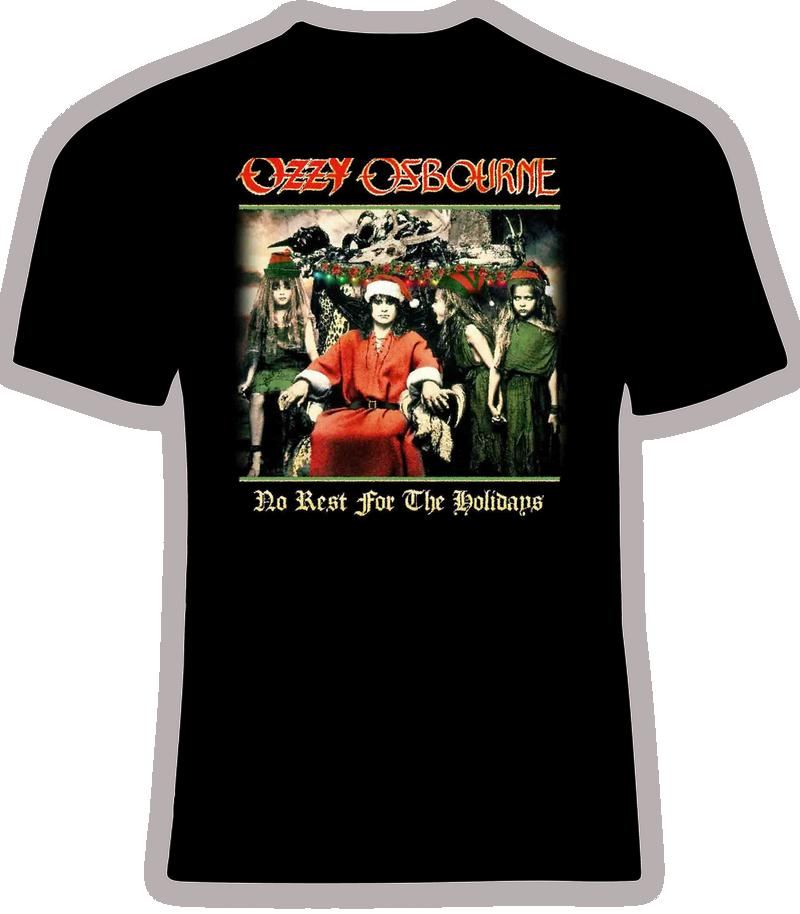 Ozzy Osbourne Xmas 'No Rest For the Holidays' T Shirt