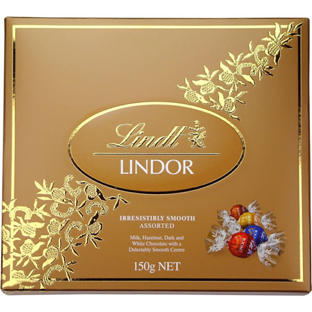 150g assorted Lindt Lindor Chocolates.