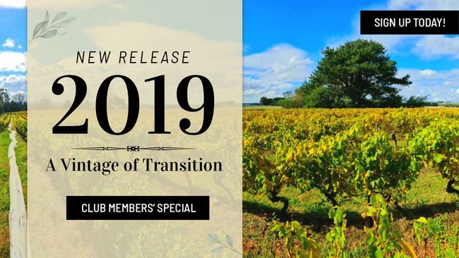 New Release 2019: A Vintage of Transition