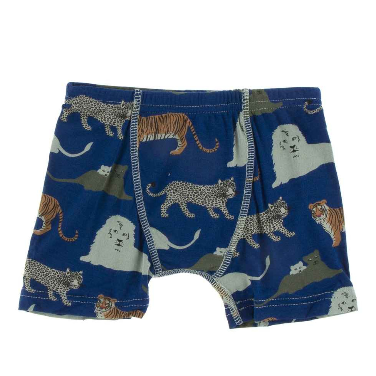 KicKee Pants Boys Boxer Brief Underwear for All Day Comfort