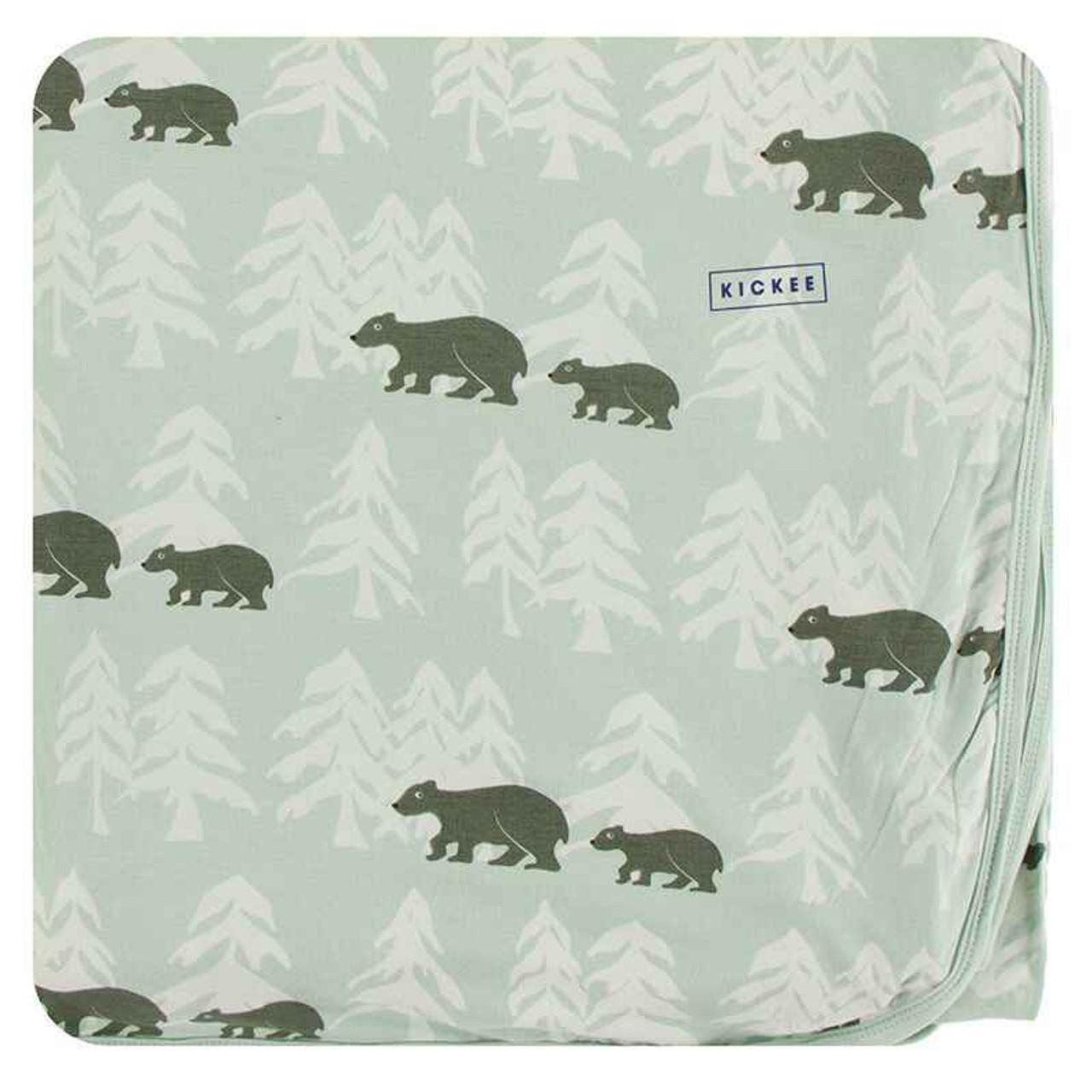 Print Stroller Blanket Aloe Endangered Animals - One Size