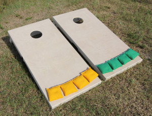 Cornhole Board Set is sanded and ready to finish.