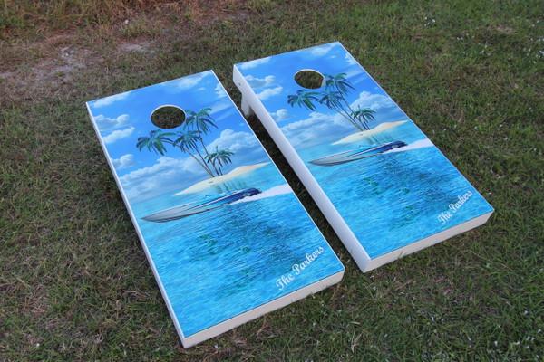 Cornhole Board Set - Custom Graphics