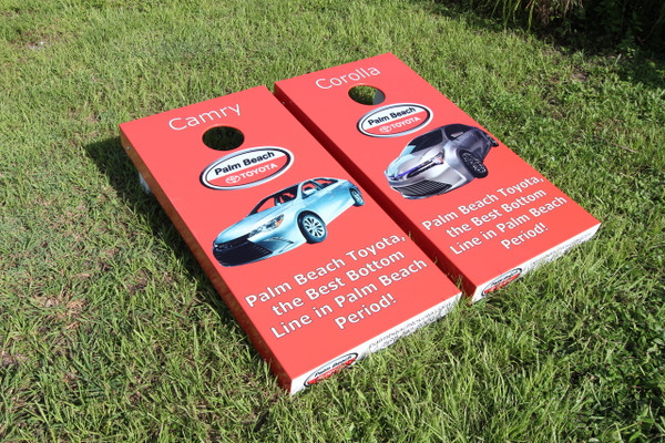 Use Cornhole for promotion of your company