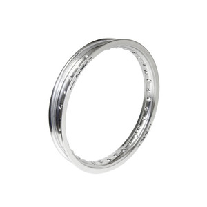 "Honda, Suzuki, Yamaha Mini Bike Rear Rim - 1.60"" x 14"" - Silver"