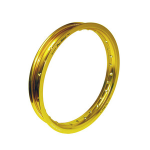 "Honda, Suzuki, Yamaha Mini Bike Rear Rim - 1.85"" x 16"" - Gold"