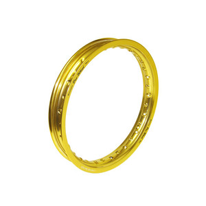 "Kawasaki Mini Bike Rear Rim - 1.60"" x 14"" - Gold"