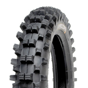 Hardcore Rear Dirt Bike Tire - 80/100 x 12