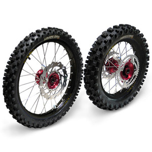 Complete Wheel Set - Honda CRF150R - BW