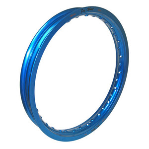 "Suzuki, Yamaha Mini Bike Rear Rim - 1.85"" x 16"" - Blue"