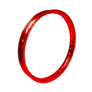 "Suzuki, Yamaha Mini Bike Front Rim - 1.40"" x 17"" - Red"