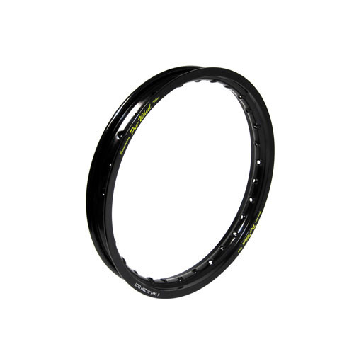 "Kawasaki, Suzuki Mini Bike/Play Bike Front Rim - 1.40"" x 14"" - Black"