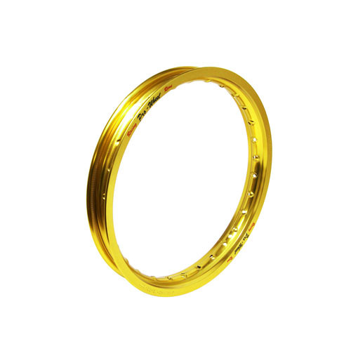 "Kawasaki, Suzuki Mini Bike/Play Bike Front Rim - 1.40"" x 14"" - Gold"