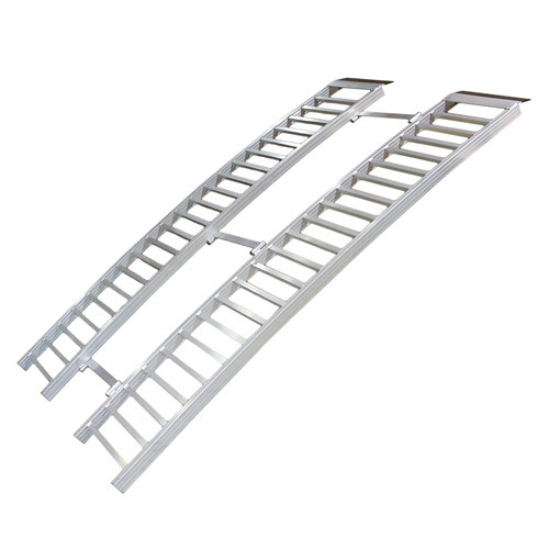 Aluminum Folding Ramps >> 7 Arched Aluminum Tri Fold Ramp