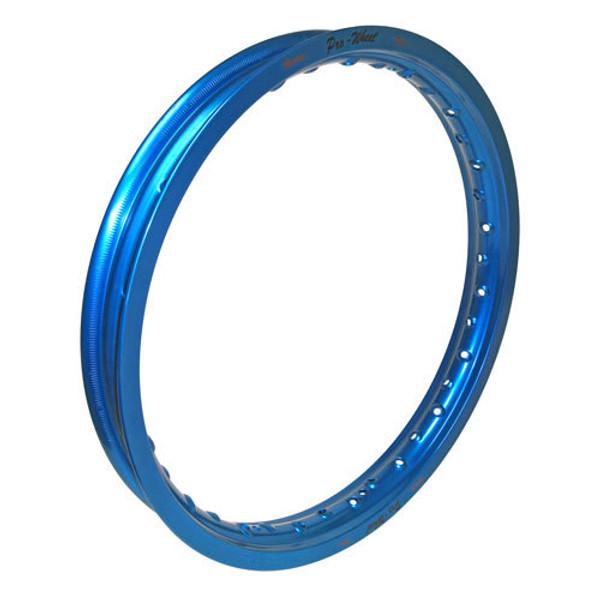 """Suzuki, Yamaha Mini Bike Rear Rim - 1.85"""" x 16"""" - Blue"""