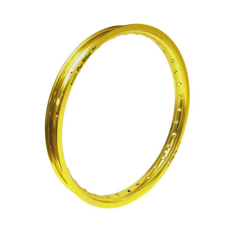 "Honda, Kawasaki Mini Bike Front Rim - 1.40"" x 17"" - Gold"