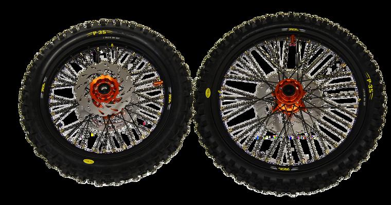 Complete Wheel Set - KTM 125/250SX-F