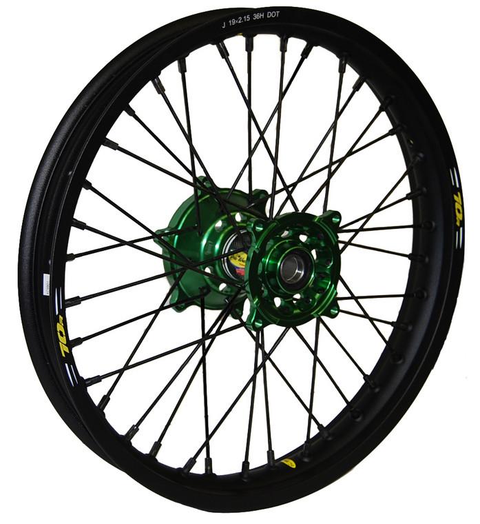 Custom Kawasaki Wheel Set