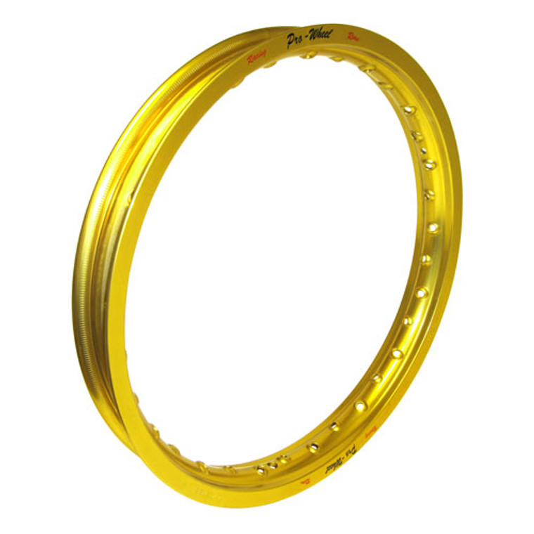 "CLOSEOUT Honda Big Bike Rear Rim - 1.85"" x 19"" - Gold"