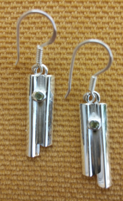 Giants Causeway Earrings front view.