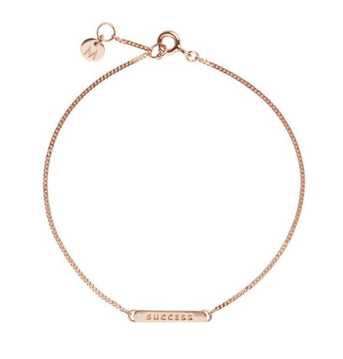 SUCCESS Rose Gold Bracelet