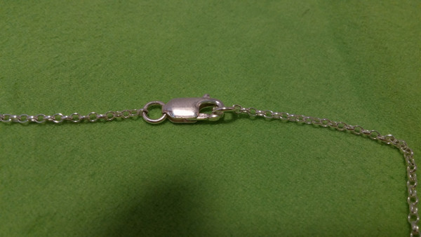 Irish Step Dancers - Solo Female Soft Shoe Silver Pendant & Chain Lobster Sterling Silver Clasp