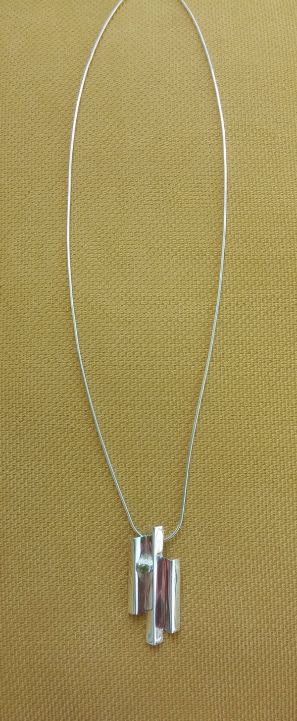 Full view of Giants Causeway Necklace.