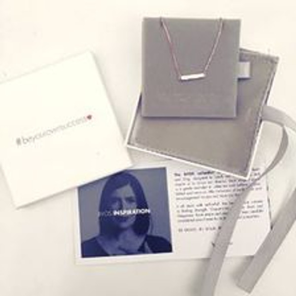 SUCCESS 18 ct Gold Over Sterling Silver Necklace by Melissa Curry