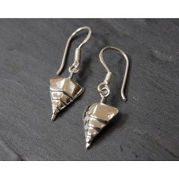 """TITANIC """"Bow of the Boat"""" Sterling Silver Earrings"""