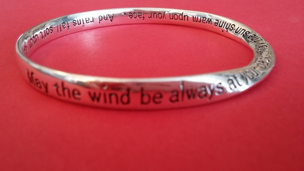 May the wind be always at your back