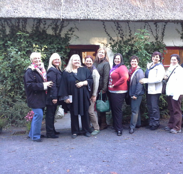 From left to right - Ronnie, Bobbie, Dana, Cindy, Marilyn, Melissa, Trudi, Donna, Lisa