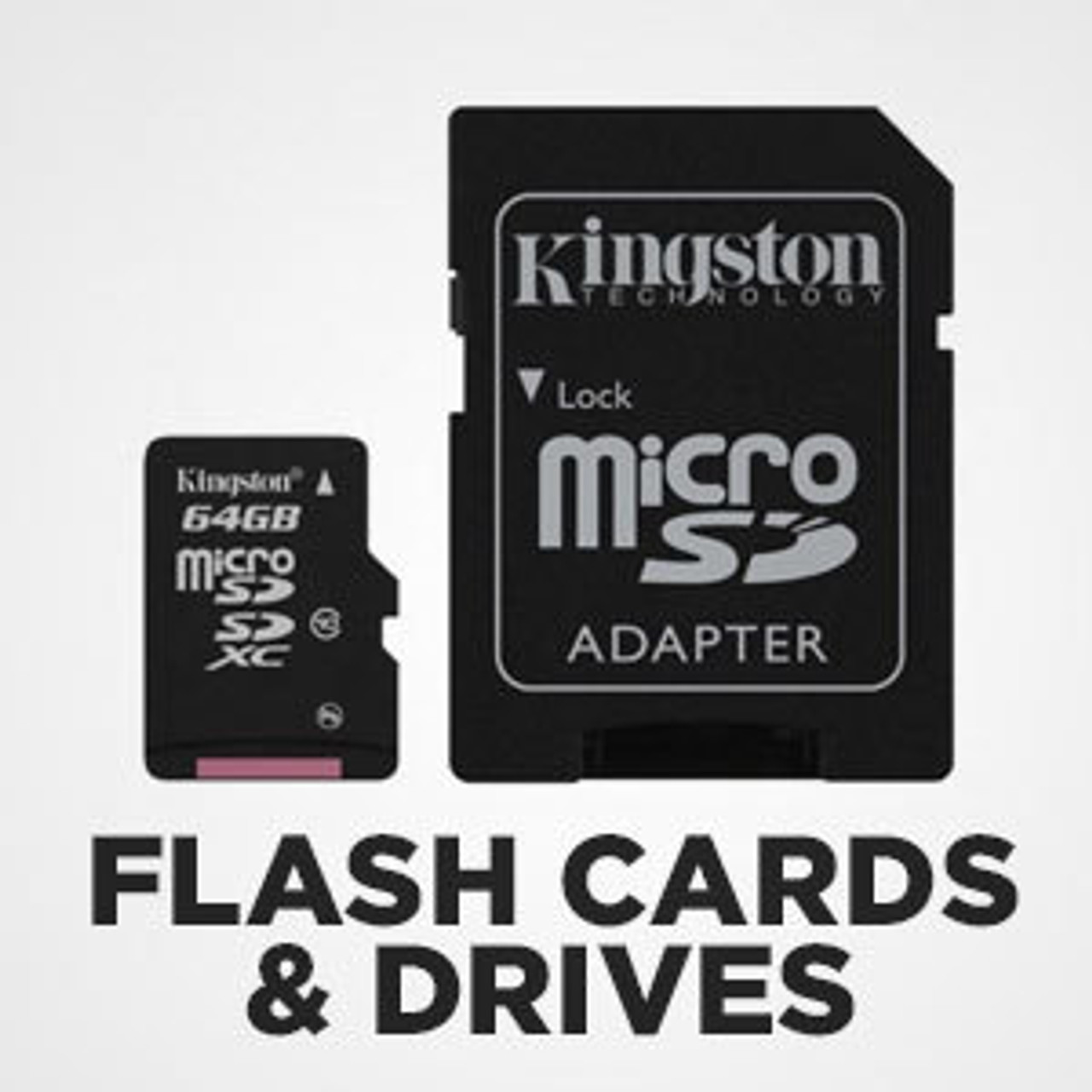 Flash Cards & Drives