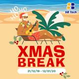 Christmas Break 21st Dec 2019 to 12th Jan 2020