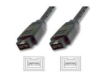 5M Firewire 1394B 9Pin/9Pin Cable