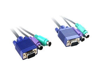 5M KVM Cable With HD15M-M