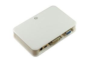 USB 2.0 To VGA & DVI 2port Hub